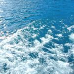 海の波紋イメージ